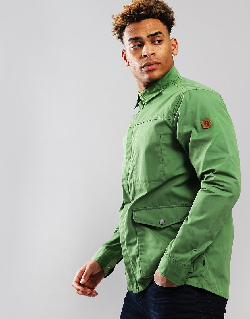 Fjällräven Greenland Zip Shirt Jacket Fern Green
