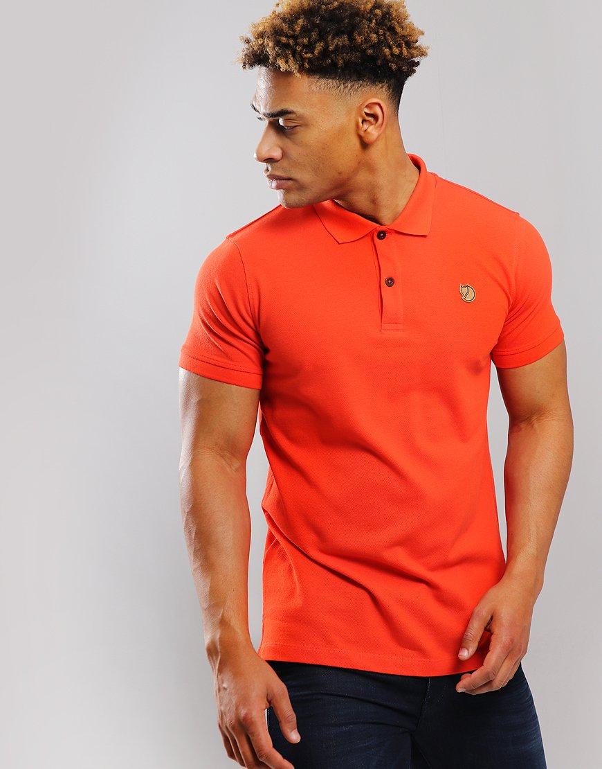 Fjällräven Övik Polo Shirt Flame Orange