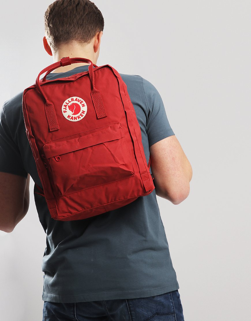 Fjällräven Kånken  Backpack Deep Red