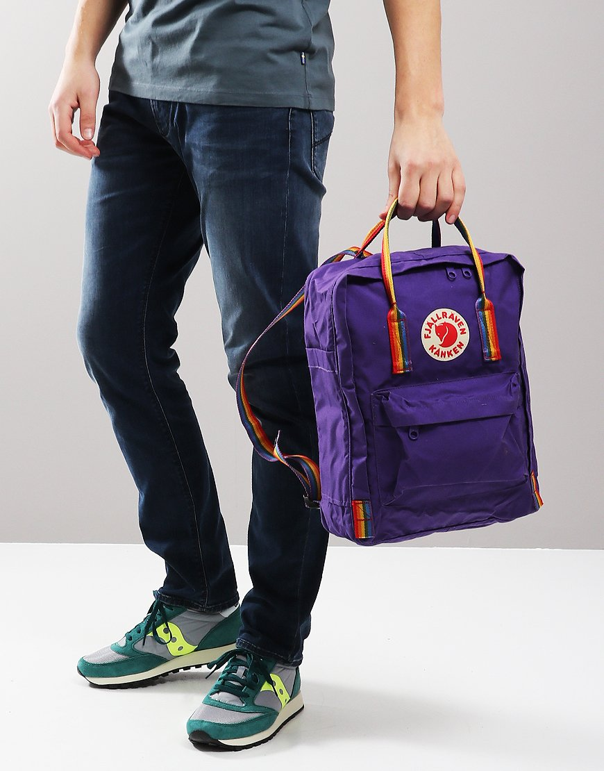 Fjällräven Kånken  Backpack Purple Rainbow