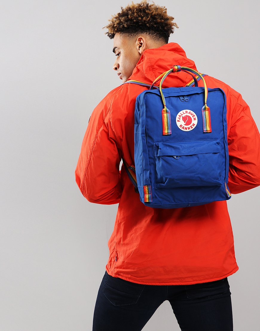 Fjällräven Kånken  Backpack Blue Rainbow