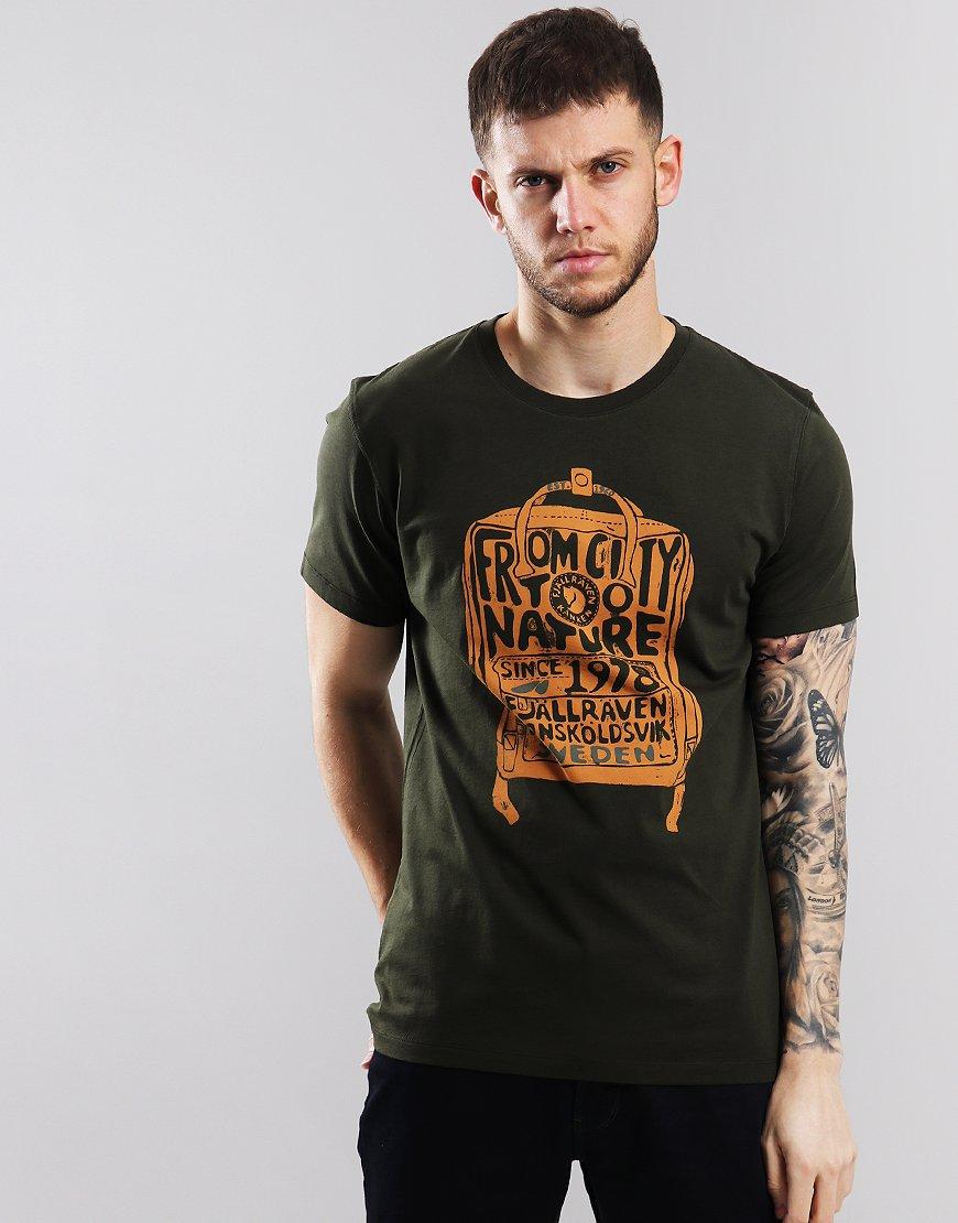 Fjällräven Kånken T-Shirt  Dark Forest