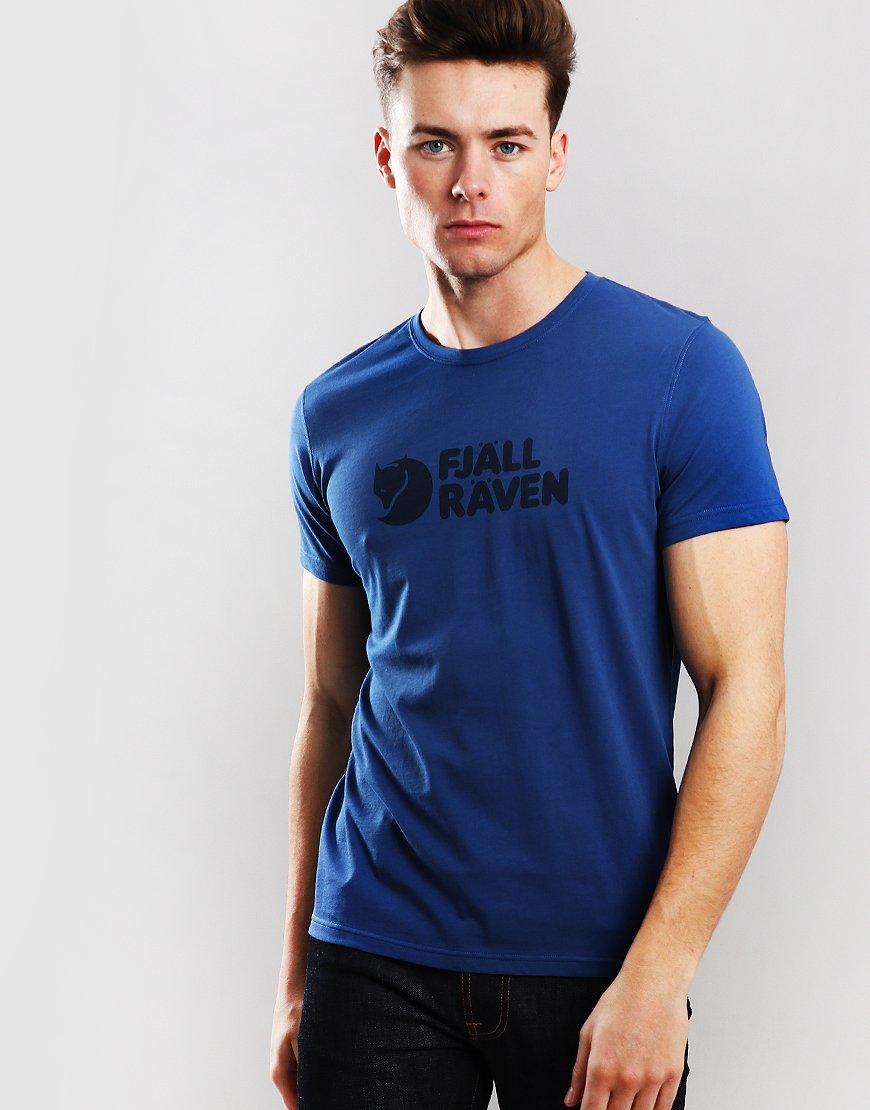 Fjällräven Logo T-Shirt Deep Blue