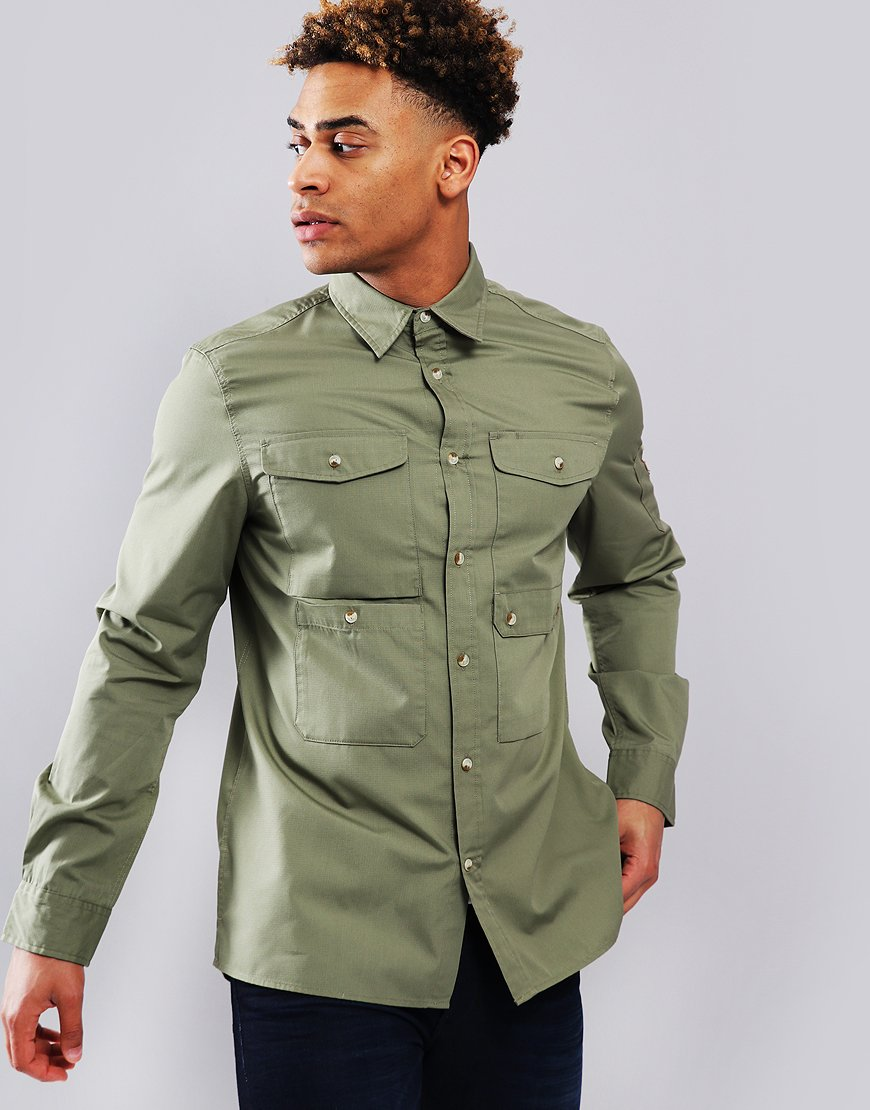 Fjällräven Ovik Shade Pocket Shirt Jacket Green