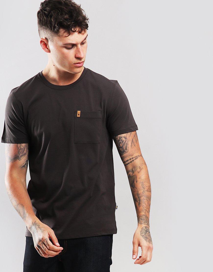 Fjällräven Ovik Pocket T-Shirt  Dark Grey