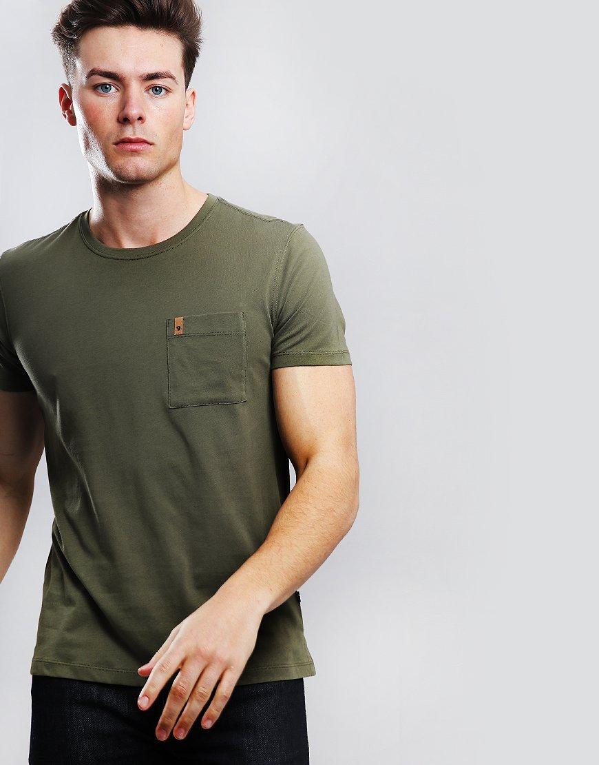 Fjällräven Ovik Pocket T-Shirt Green