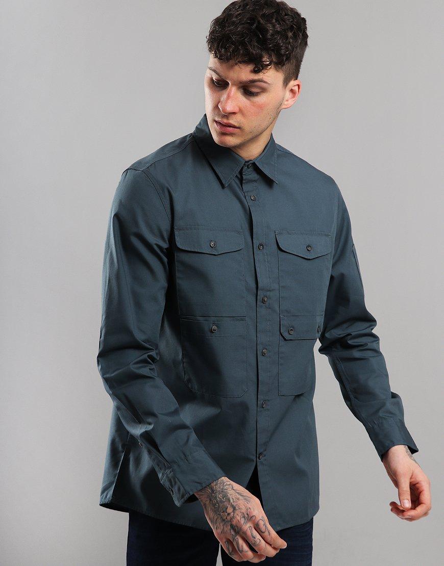 Fjällräven Ovik Shade Pocket Shirt Jacket Dusk