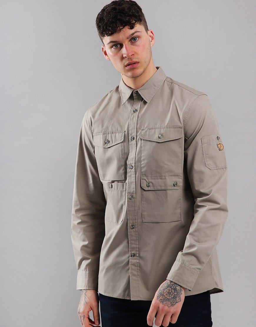 Fjällräven Ovik Shade Pocket Shirt Jacket Fog