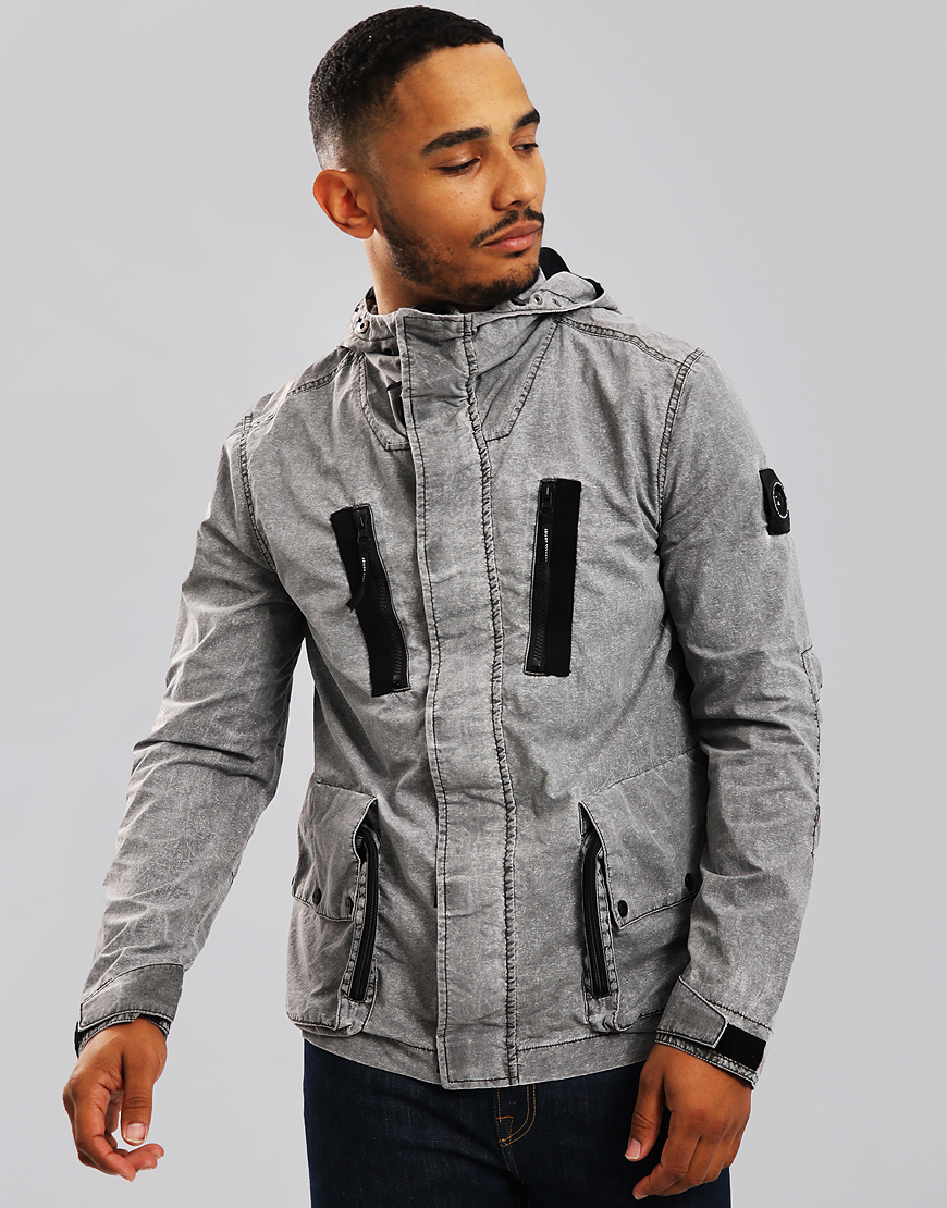 Marshall Artist Fragment Process Jacket Washed Grey