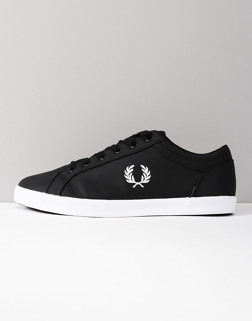 Fred Perry Baseline Ripstop Trainers Black