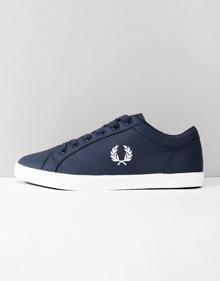 Fred Perry Baseline Ripstop Trainers Dark Airforce