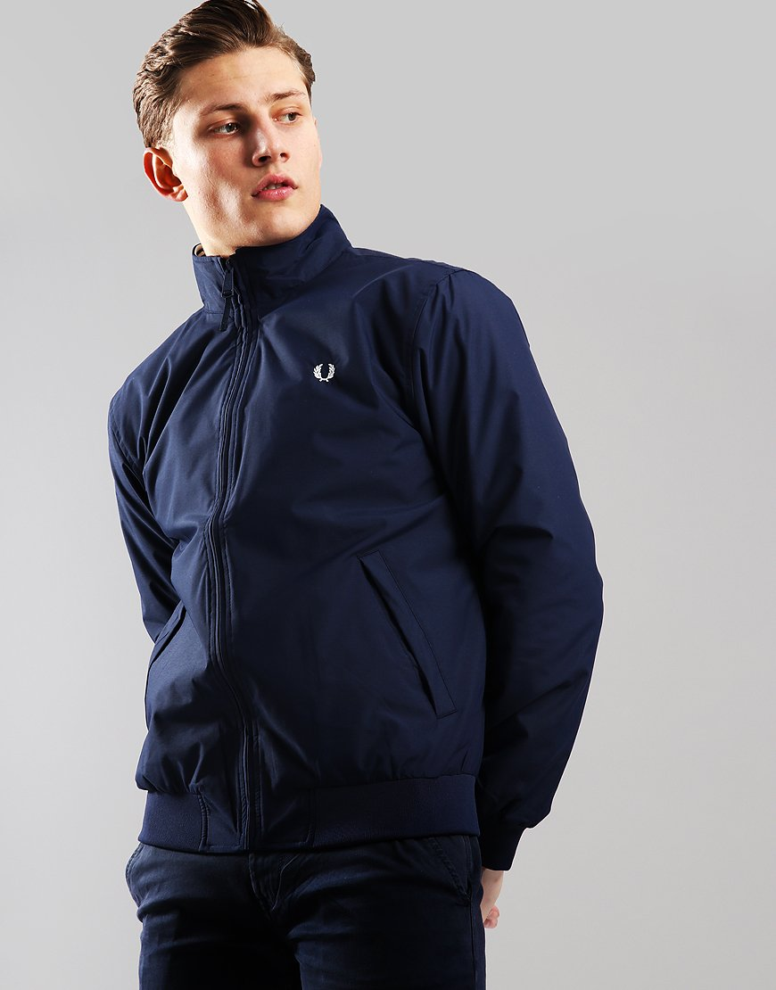 a18080fa0 Fred Perry Brentham Jacket Carbon Blue