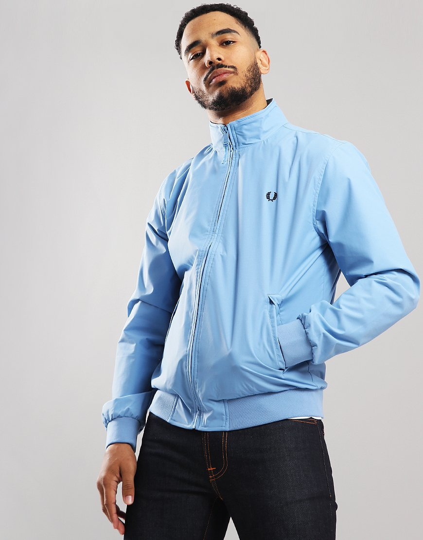 Fred Perry Brentham Jacket Sky