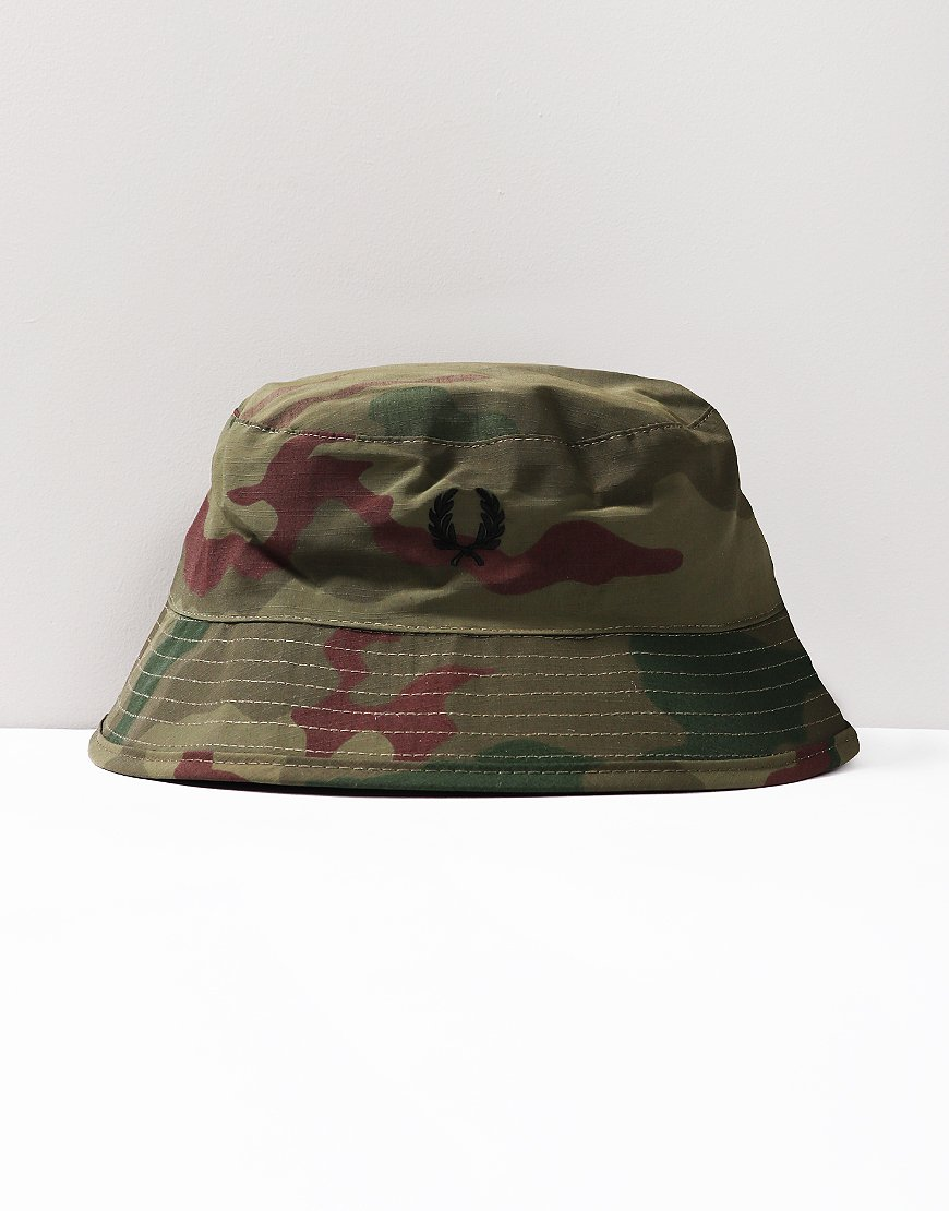 c06f4b79 Fred Perry Artkis Camo Bush Hat
