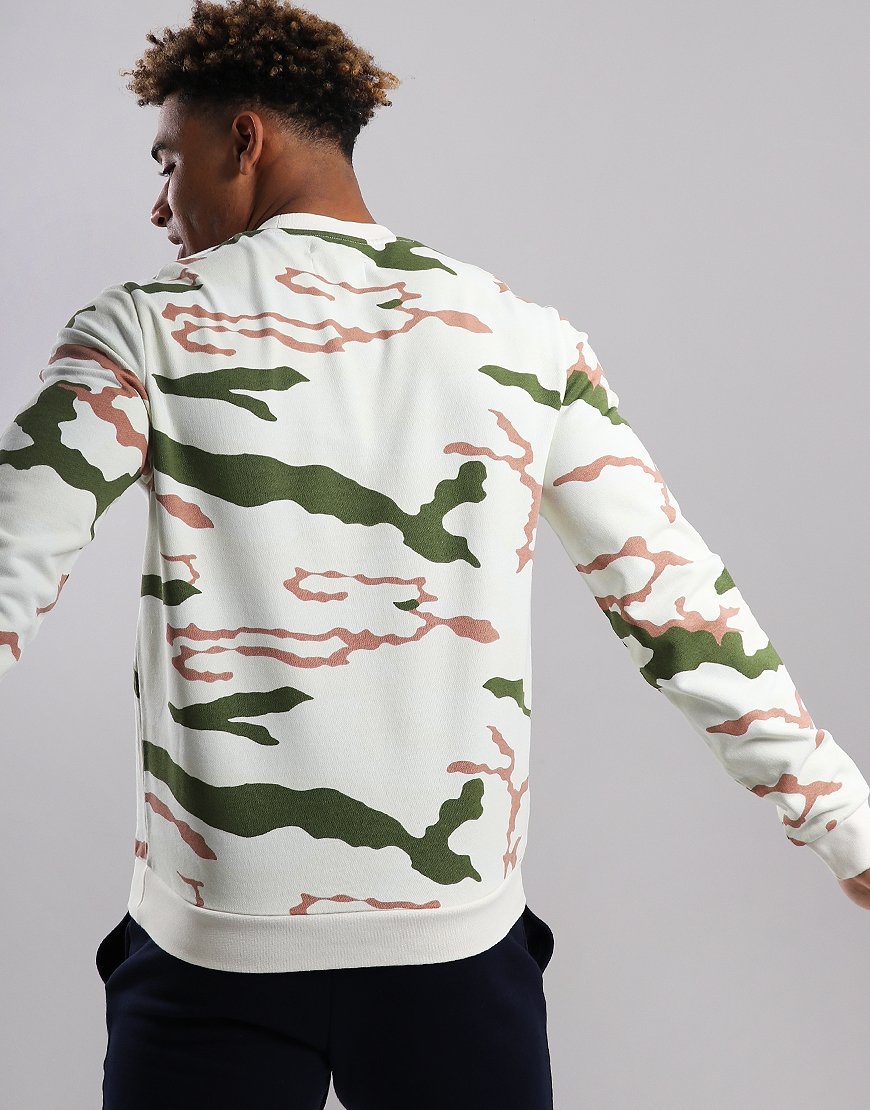 0db05bfa3 Fred Perry Camo Sweat Tundra Camo - Terraces Menswear