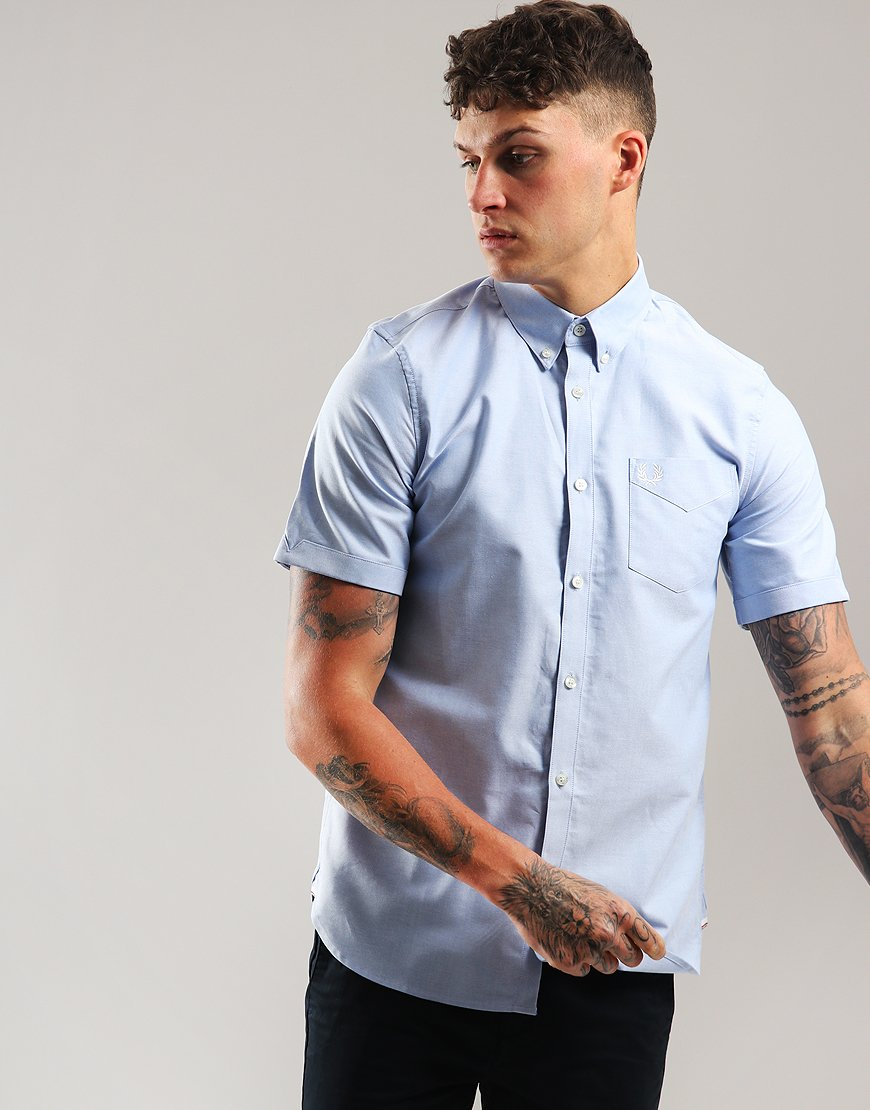 Fred Perry Classic Oxford Shirt Smoke