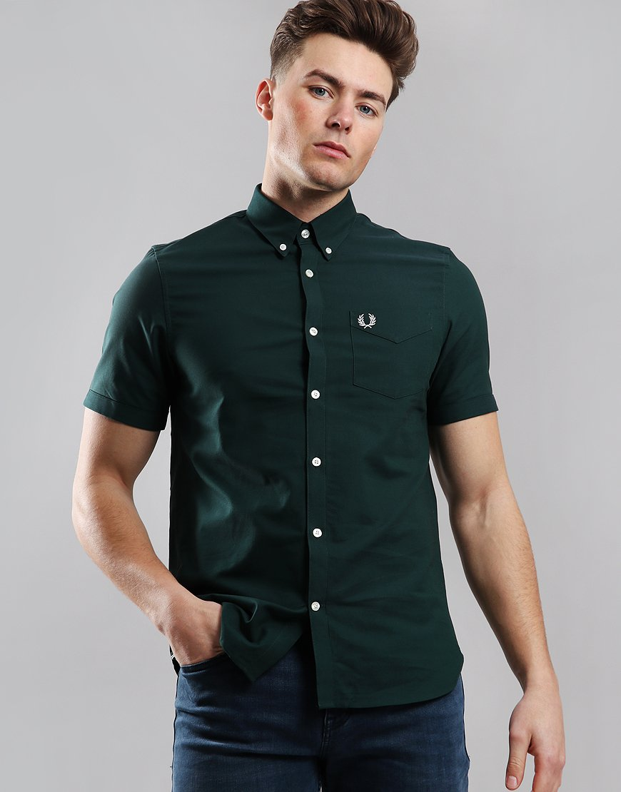 Fred Perry Classic Oxford Shirt Mallard