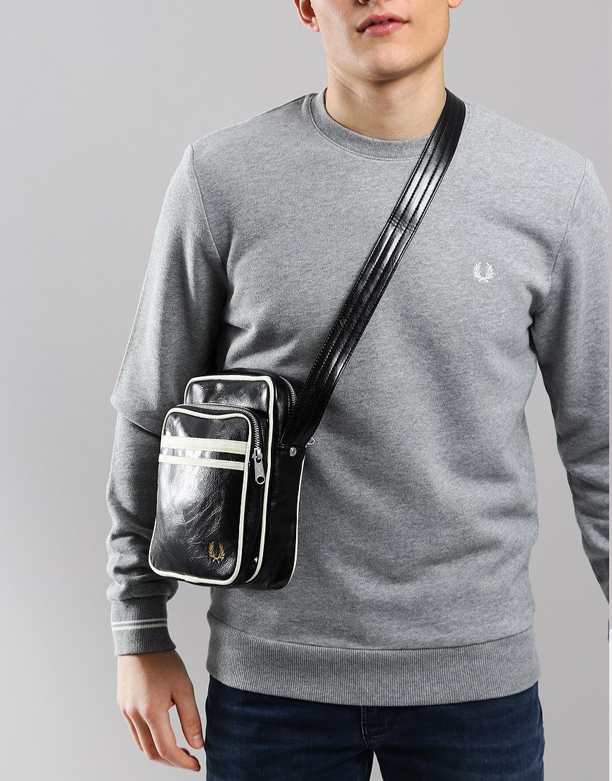 Fred Perry Classic Side Bag  Black