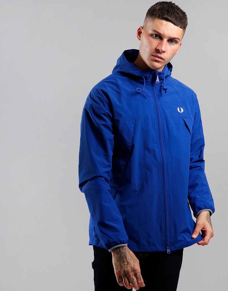 Fred Perry Panelled Zip Through Jacket Regal