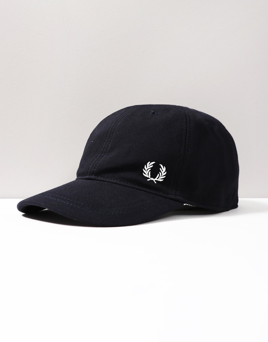 Fred Perry Pique Baseball Cap Navy
