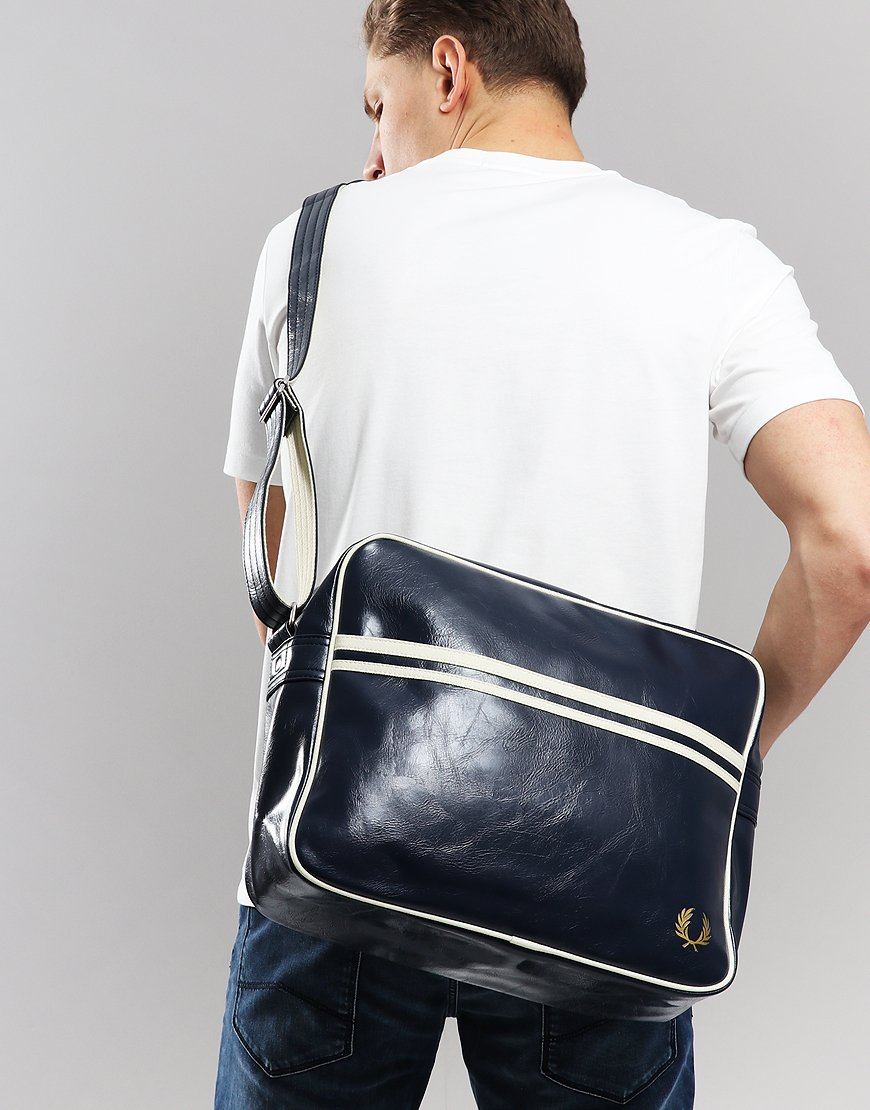 Fred Perry Shoulder Bag Navy