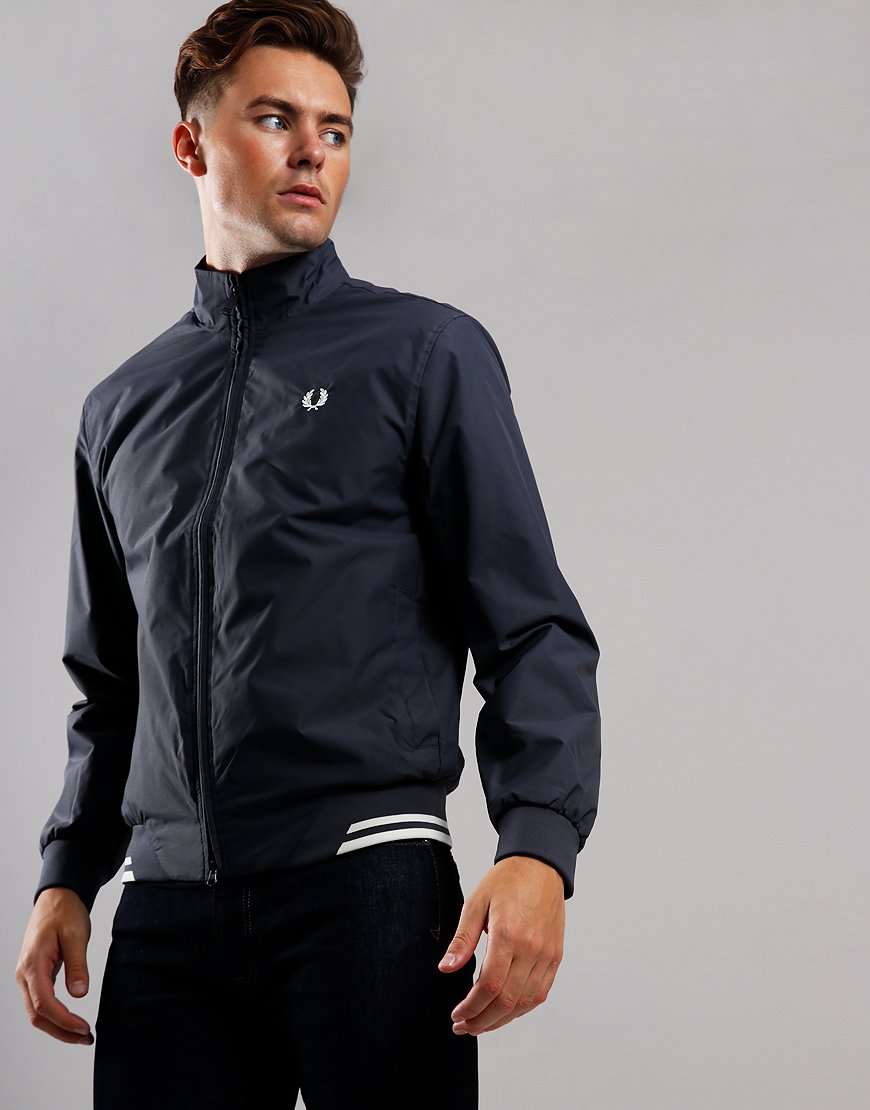 Fred Perry Twin Tipped Brentham Jacket Charcoal