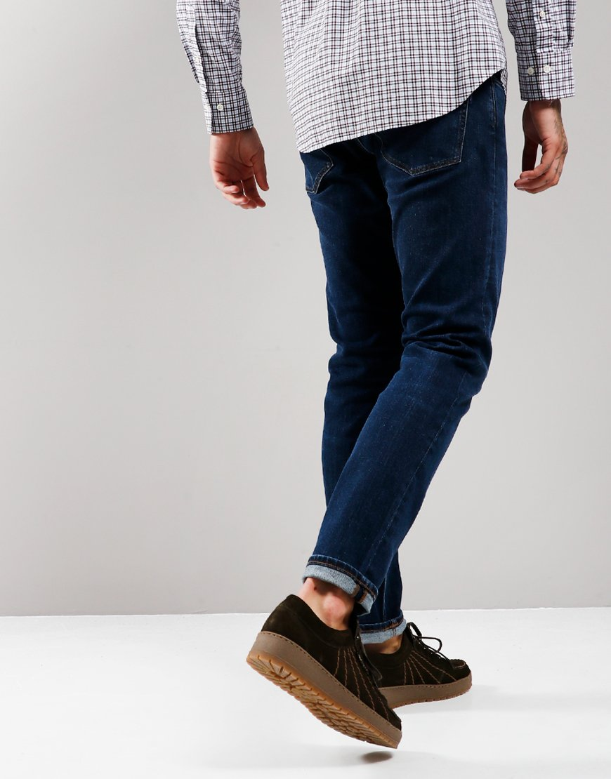 GANT Tapered Jeans Dark Blue Worn