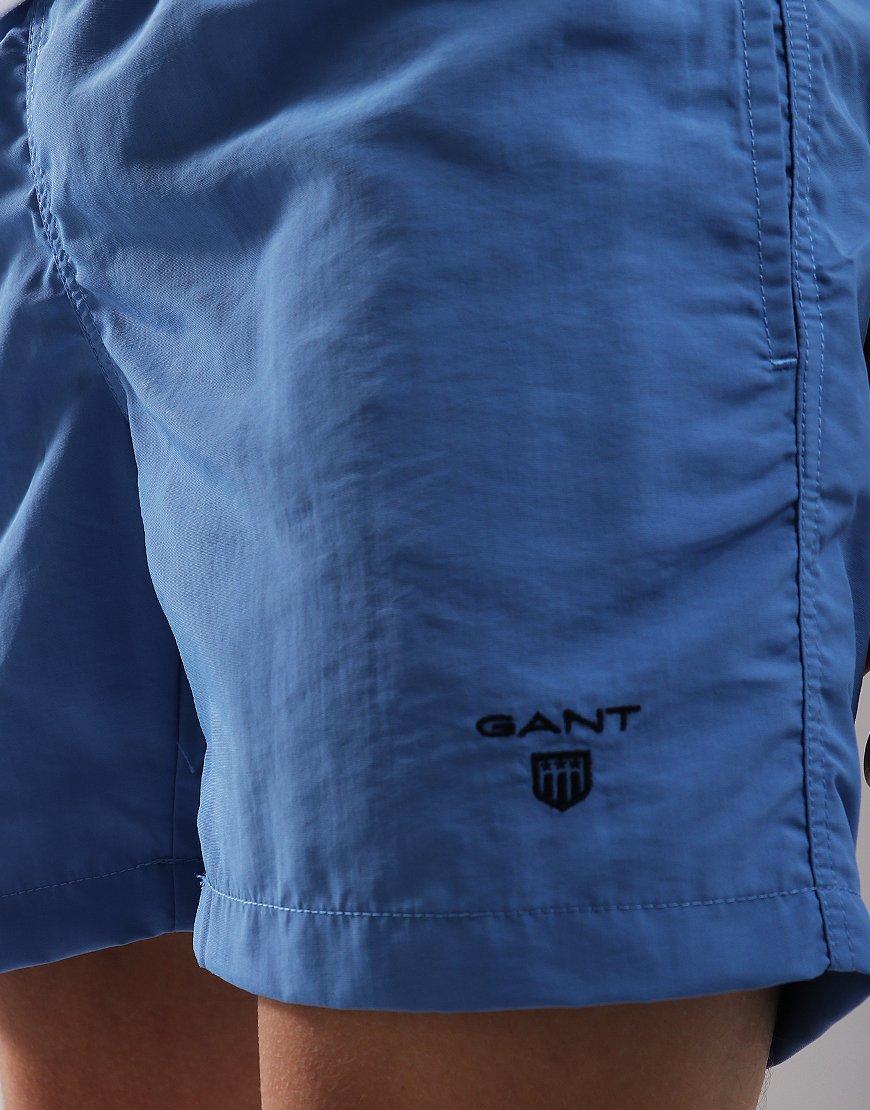 Gant Kids Basic Swim Shorts Mid Blue