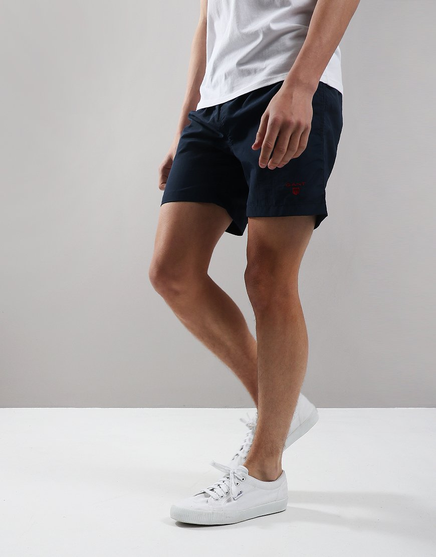 Gant Kids Basic Swim Shorts Navy