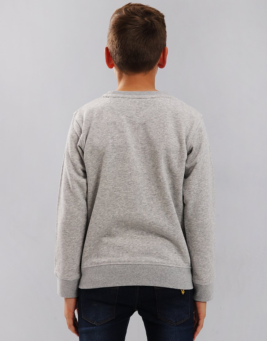 Gant Kids Original Crew Sweat Light Grey Melange