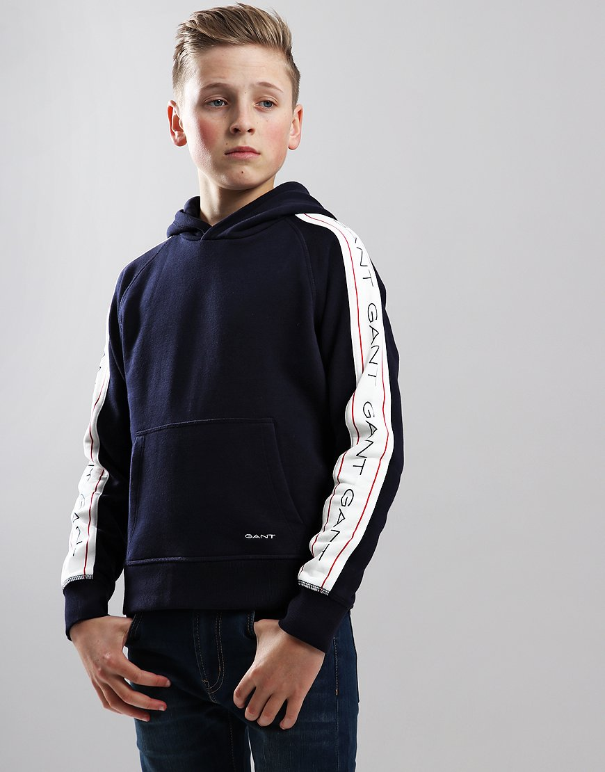 Gant Kids Icon Hoodie Evening Blue