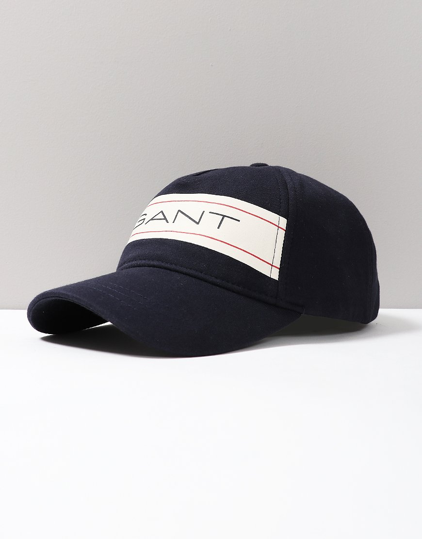 GANT Kids Archive Jersey Cap Evening Blue