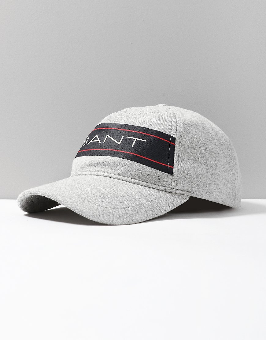 GANT Kids Archive Jersey Cap Light Grey Melange