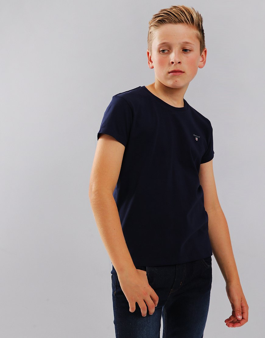 Gant Kids Original T-Shirt Evening Blue