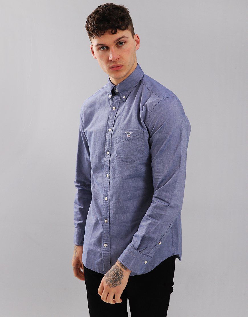 Gant UK Oxford Shirt Persian Blue