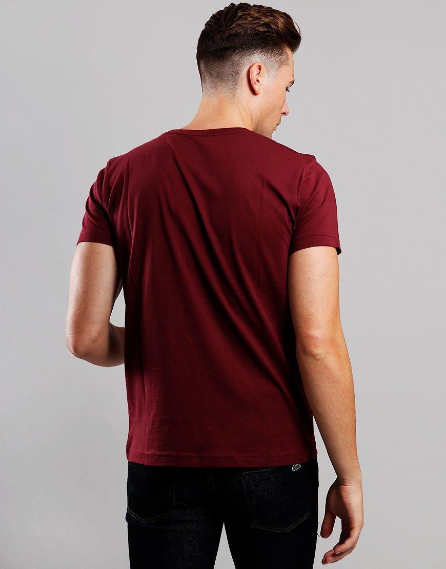 Gant Solid T-Shirt  Port Red