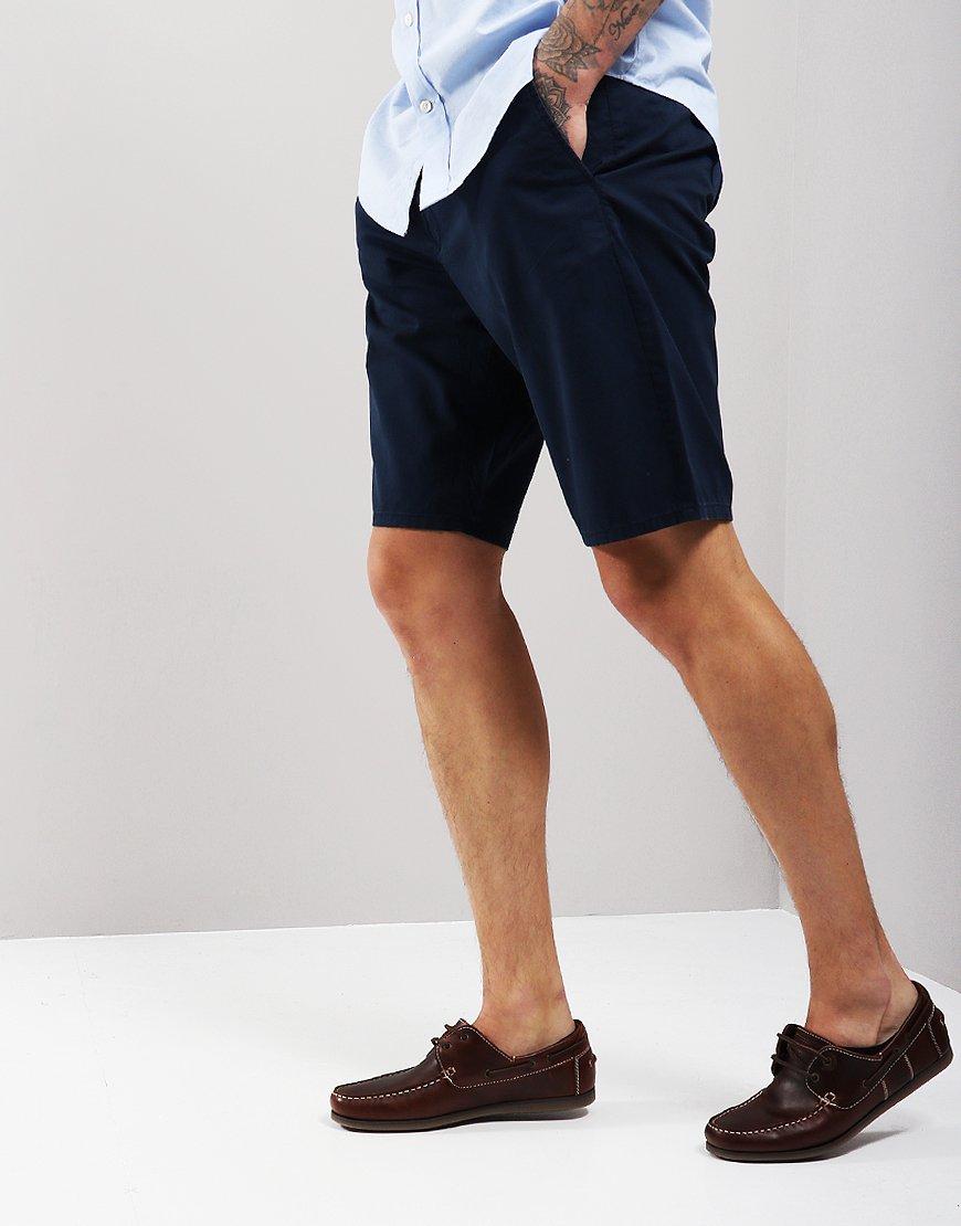 GANT Cotton Summer Chino Shorts Shadow Blue