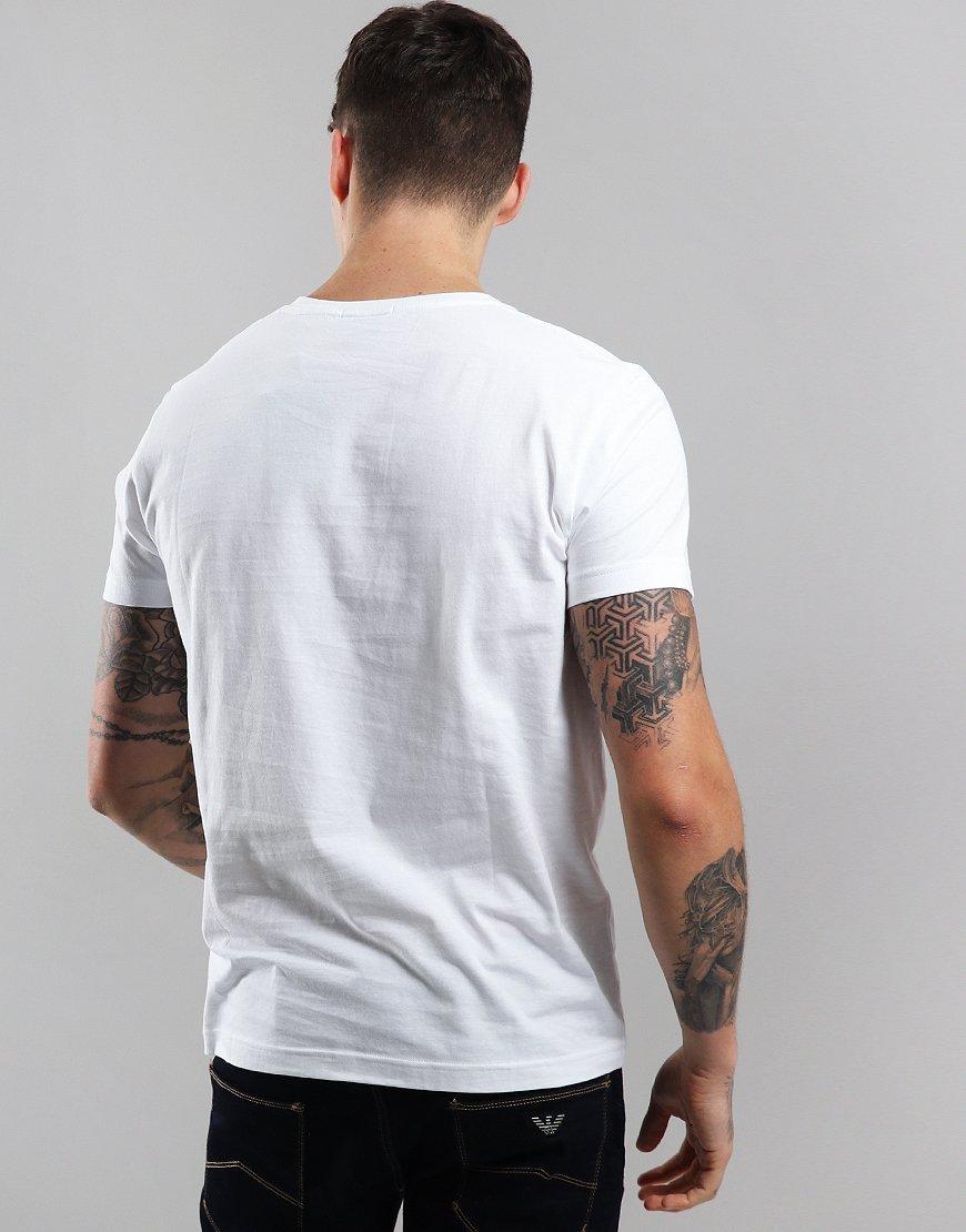 327b3e540035c5 Gant Solid T-Shirt White - Terraces Menswear