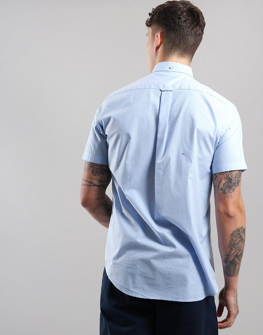 1fc8bd387fc Gant Broadcloth Shirt Hamptons Blue - Terraces Menswear