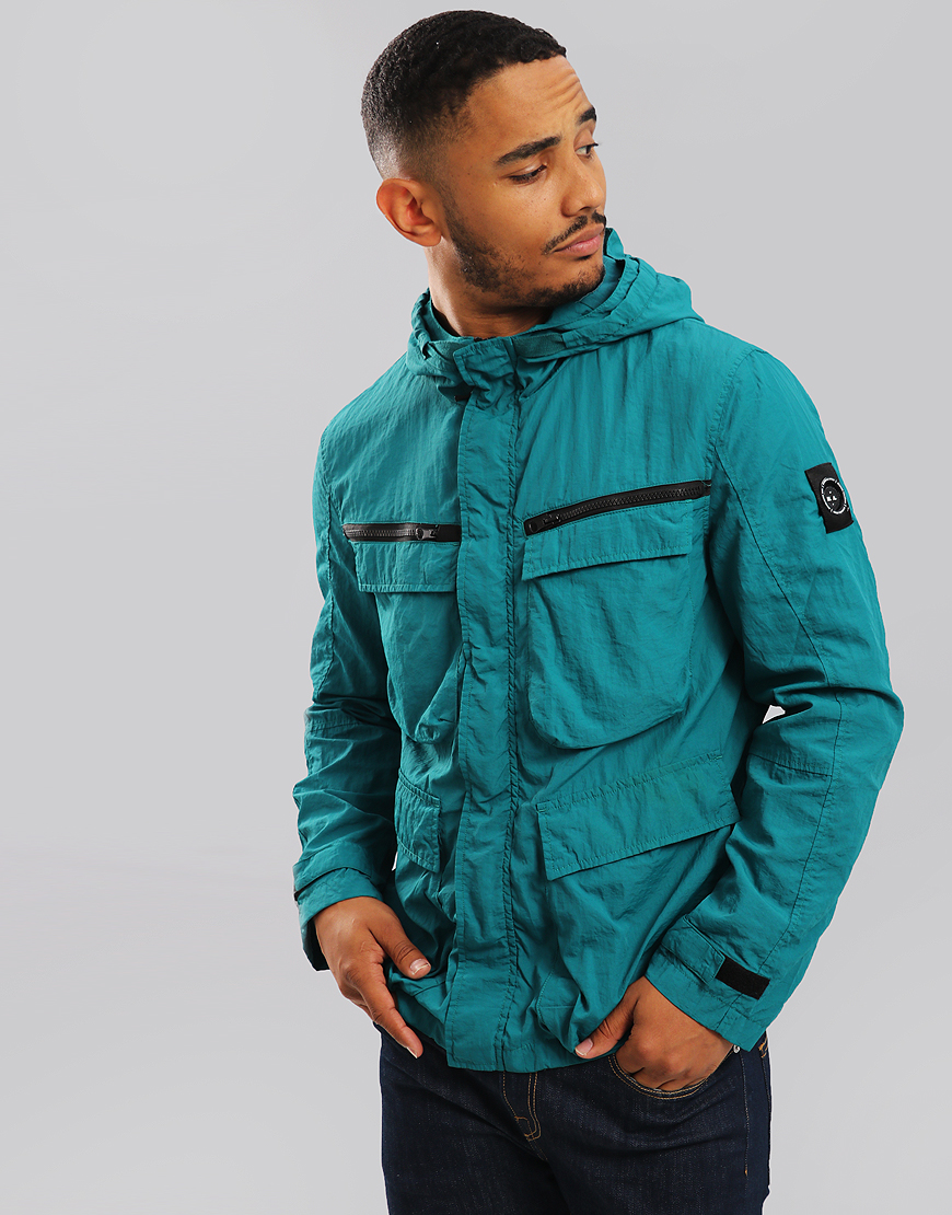 Marshall Artist Garment Dyed Field Jacket Teal