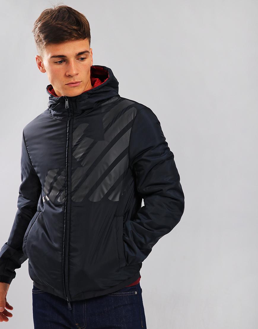 Emporio Armani Reverse Jacket Blue Eagle