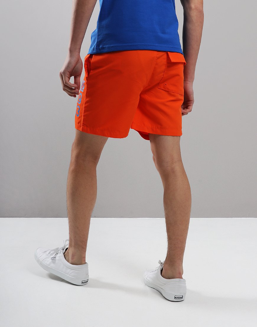 64330d72a1f3a Henri Lloyd Junior 1963 Swim Short Red Orange - Terraces Menswear