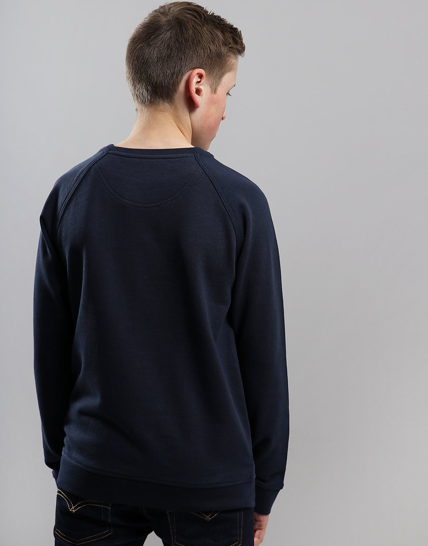 Henri Lloyd Junior Barford Crew Neck Sweat Navy Blazer