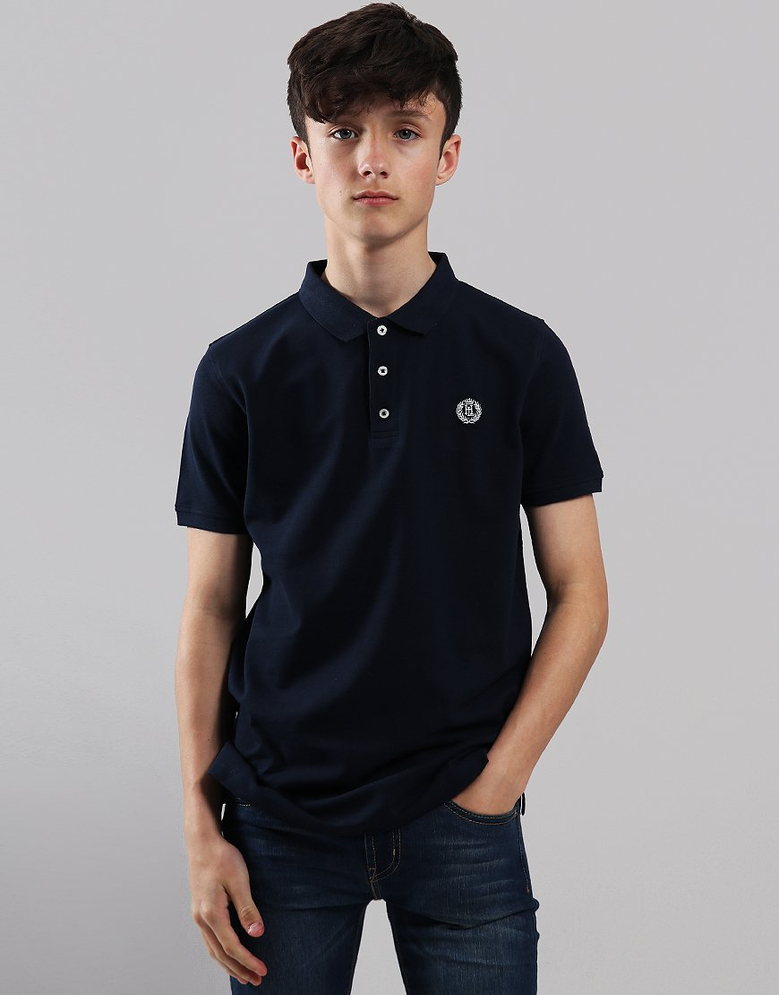 Henri Lloyd Junior Cowes Polo Shirt Navy Blazer