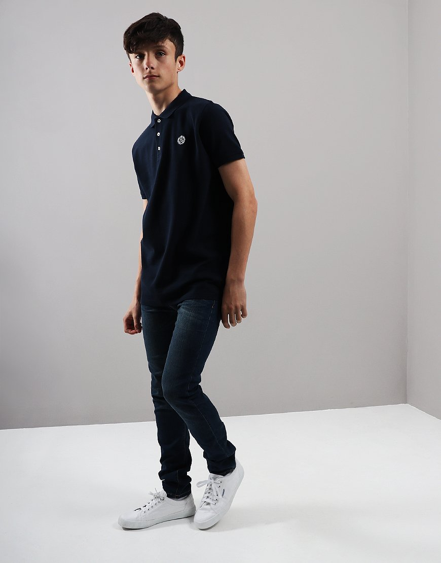 Henri Lloyd Junior Cowes Polo Shirt Navy Blazer