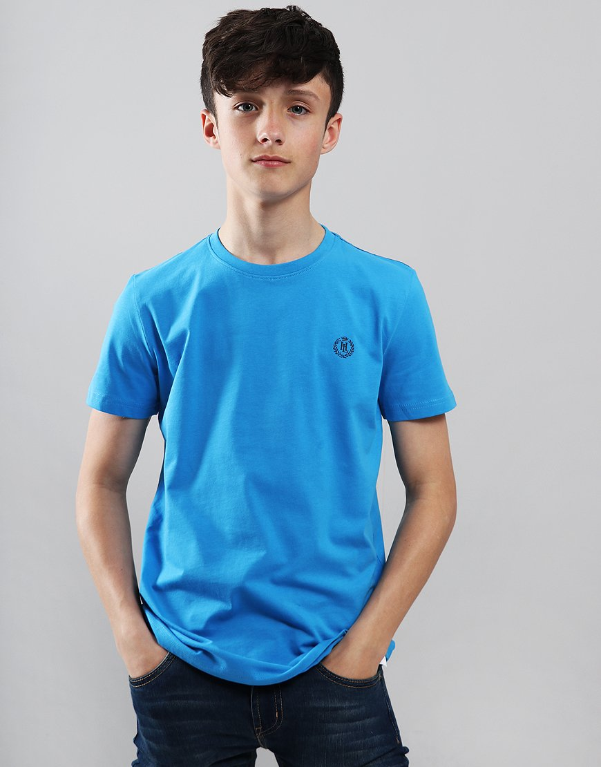 Henri Lloyd Junior Radar T-Shirt Lapis Blue