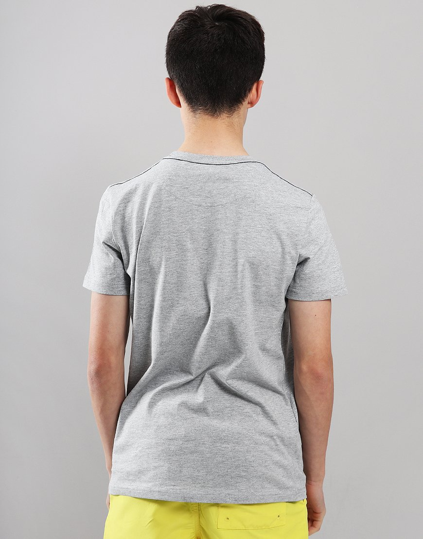 Henri Lloyd Junior Radar T-Shirt Vintage Grey Heather