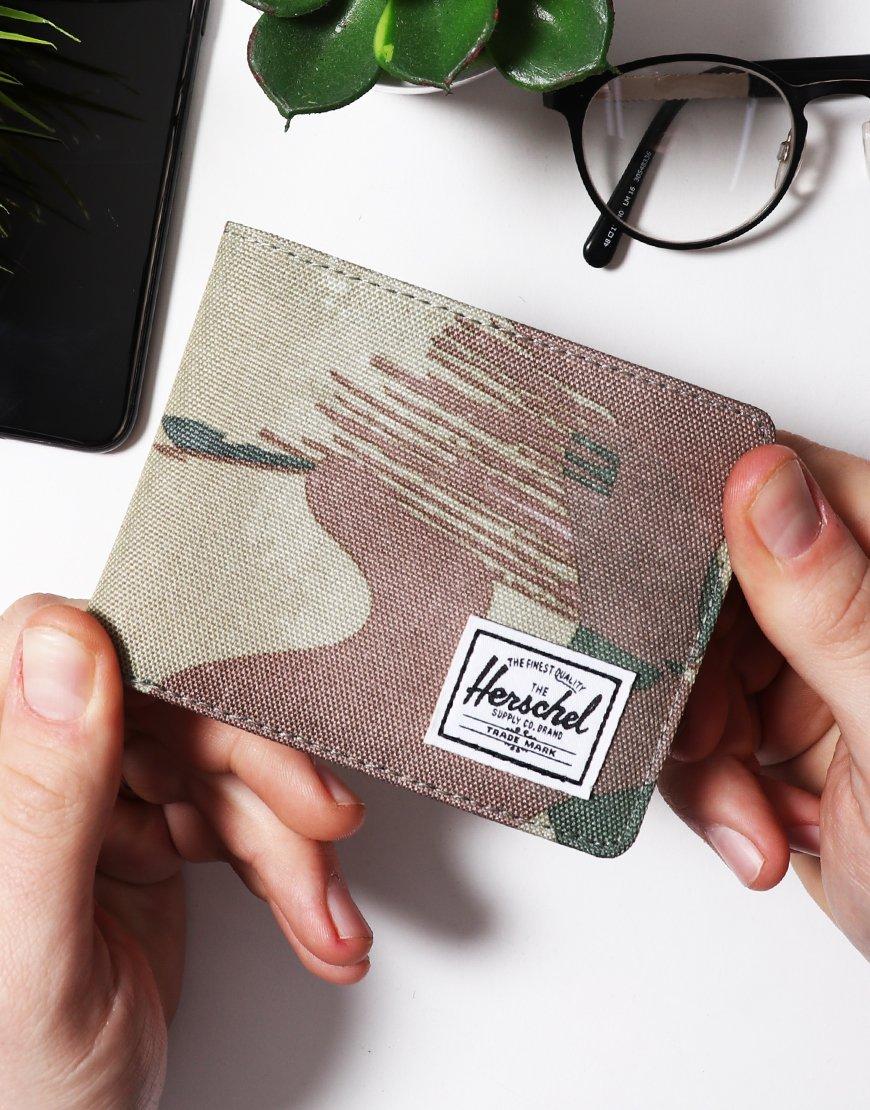Herschel Roy Coin RFID Wallet Brushed Camo