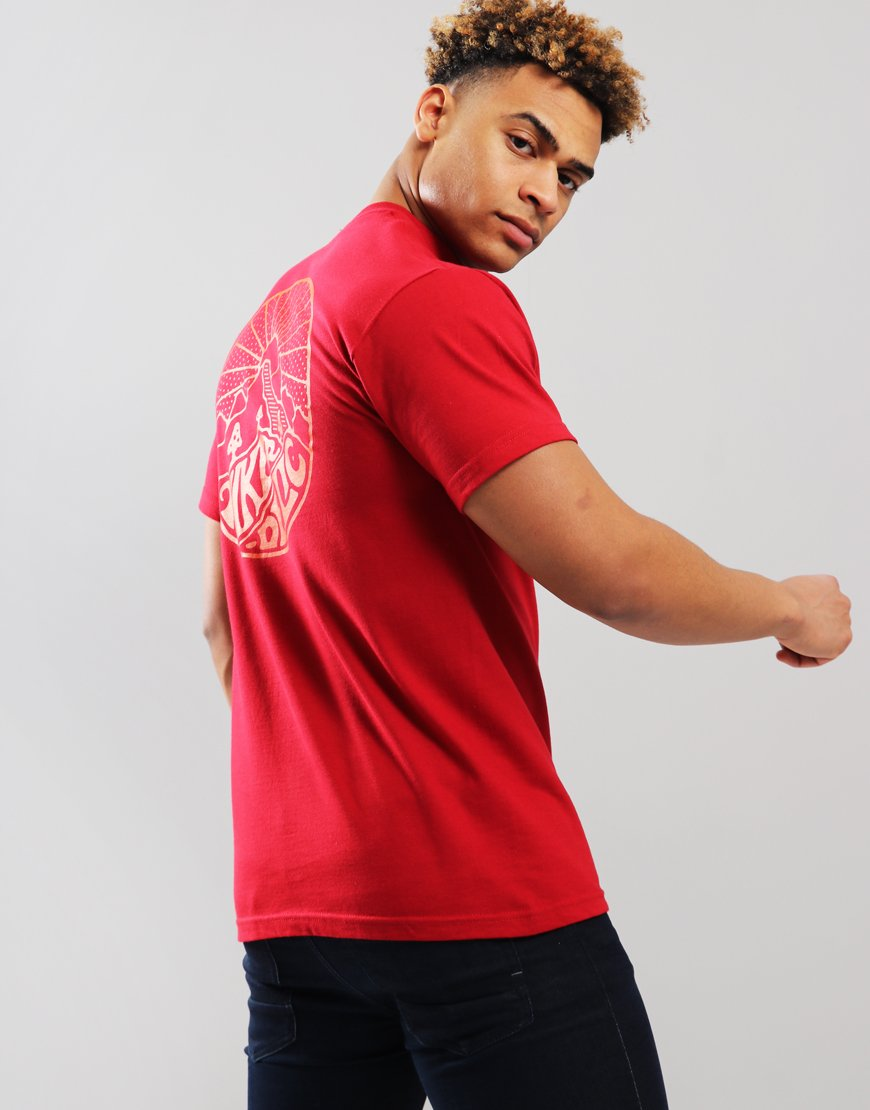 Hikerdelic Core T-Shirt  Red