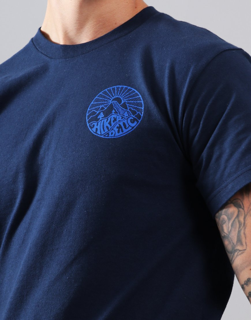 Hikerdelic Core T-Shirt  Navy